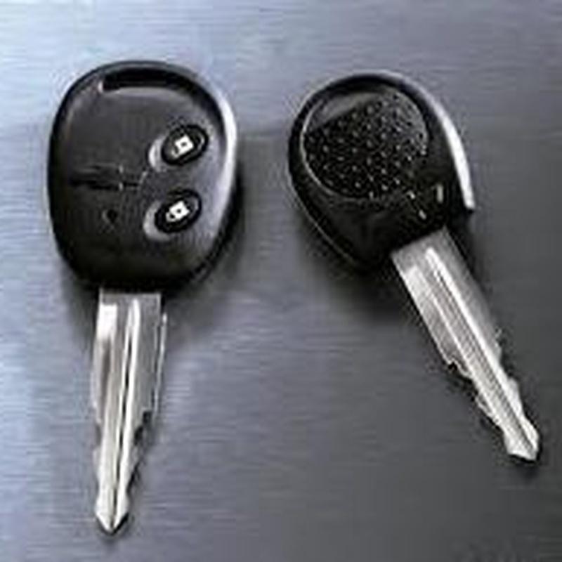 Llave Chevrolet con mando y sin mando, Aveo, Matiz: Productos de Zapatería Ideal