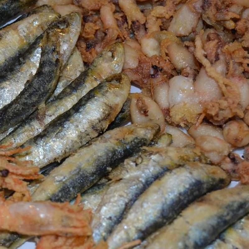 Rest. La Barca del Salamanca. Nuestro pescado: Menús restaurantes de Grupo Silvestre