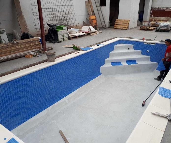 Construcción de piscina en Puerto de la Cruz
