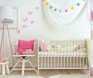Qué necesitas para decorar la habitación de un bebé