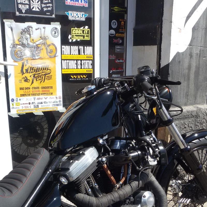motos custom valencia, personalizar sporsters, transformacion motos,venta motos custom