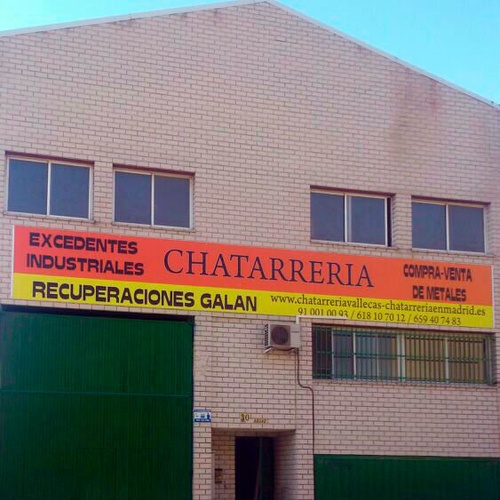 Recuperación de chatarra en Madrid