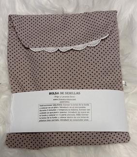 Bolsa de semillas con un toque romántico