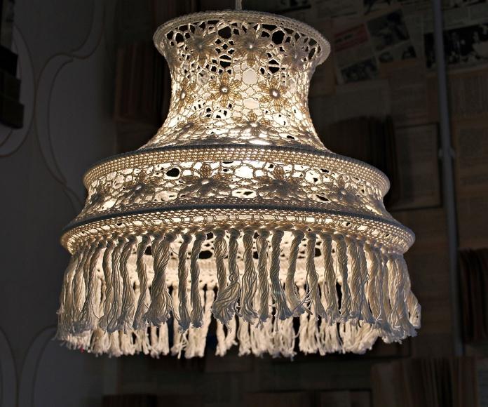 LAMPARA CROCHET EN VALENCIA