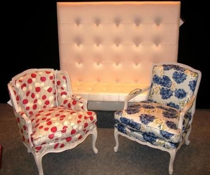 Tapizado Sillon: Tipos de tapizados y tejidos de Taller de Tapicería Javier Giménez