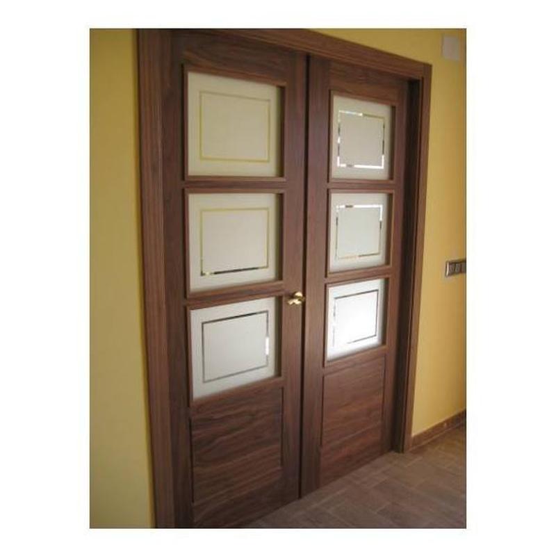 Diseños de puertas dobles: Catálogo de productos   de Carpintería Jano