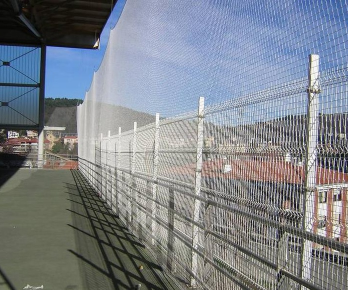 Cerramiento de nylon: Servicios de Cercados Sarelan