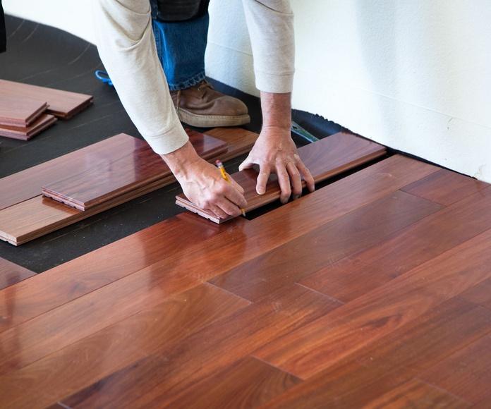 Suelos de madera de todo tipo: Productos de Carpintería Jonay