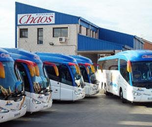 Moderna flota de autocares