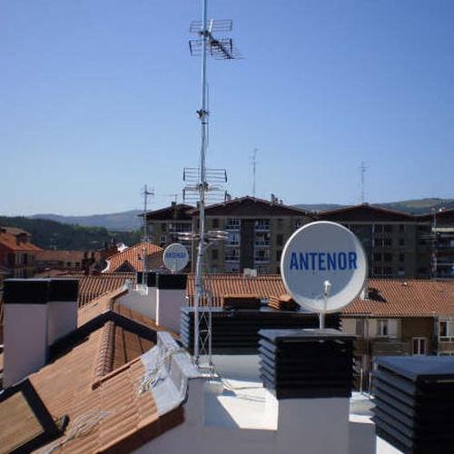 Instalación de antenas en Bilbao
