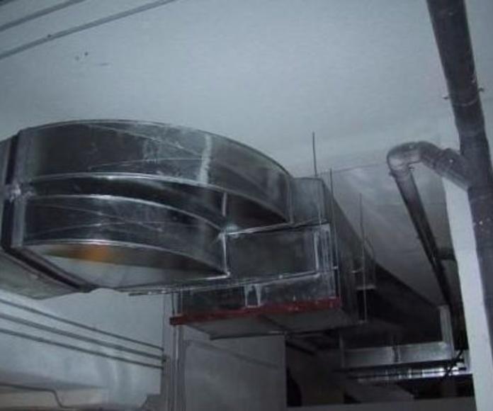 Instalación y fabricación de conductos : Servicios de Cima