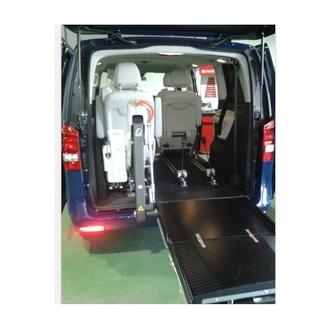 Mandos para la conducción y transporte de discapacitados