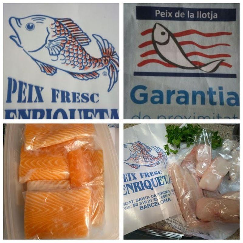Servicio a domicilio: Pescadería de Peixeteria ENRIQUETA