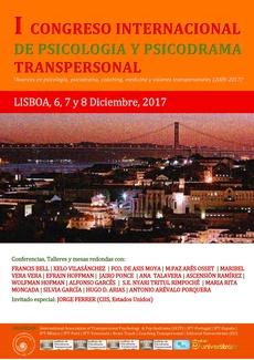 Cartel del I Congreso Internacional de Psicología y Psicodrama Transpersonal