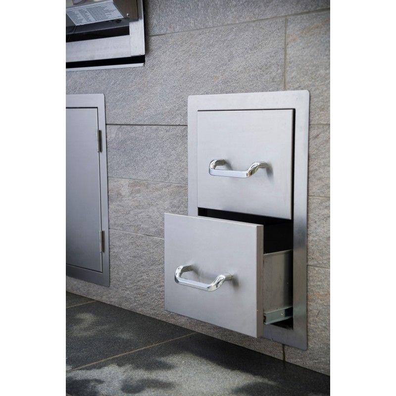 Set encastrable doble cajón inox: Productos de Mk Toldos