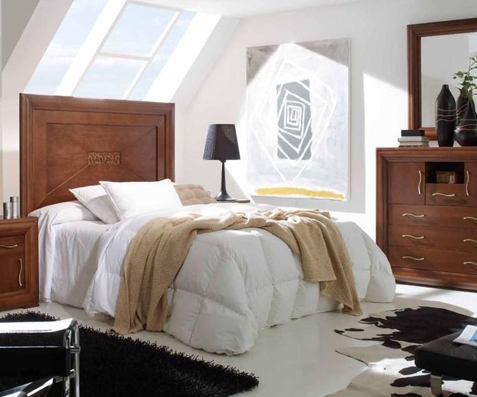 Dormitorio de corte clásico Madrid