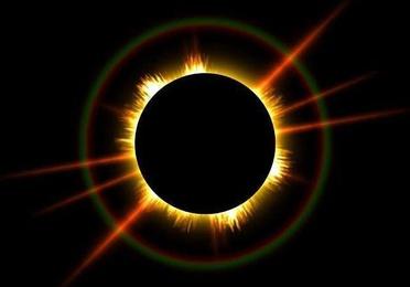 Eclipse solar fenómeno bonito y peligroso
