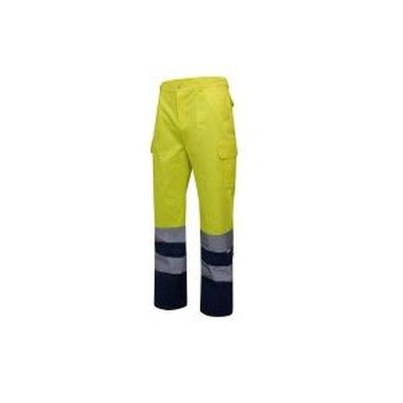 Serie 303001 / Pantalón bicolor multibolsillos alta visibilidad: Nuestros productos  de ProlaborMadrid