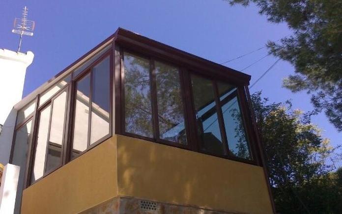 cerramientos con techo fijo: PRODUCTOS  de Mk Toldos