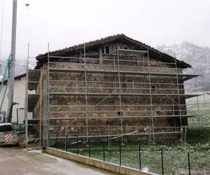 Rehabilitación de caseríos abandonados o deteriorados en Navarra - Antes