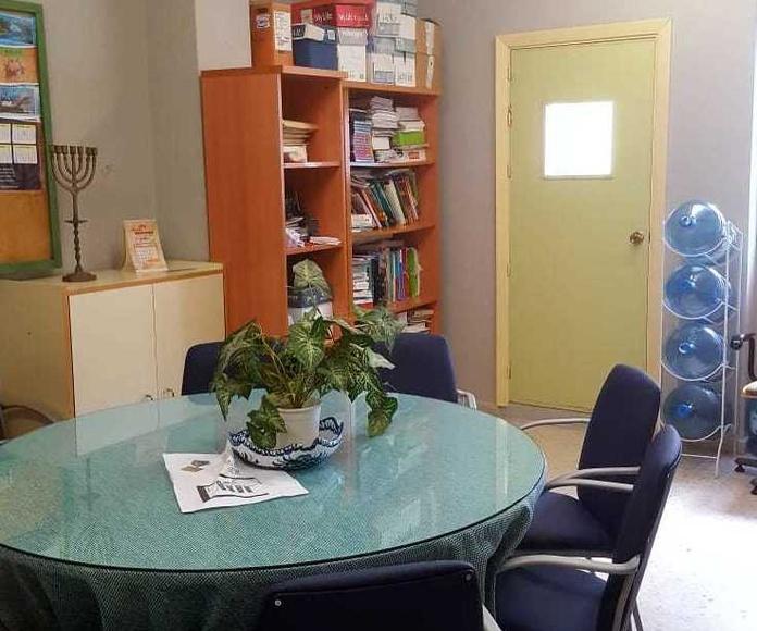 Aplicación de pintura con Cambio de color en oficinas
