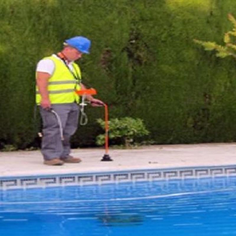Reparación de bajantes y tuberías de piscinas sin obra: servicios de urgencias  de Mantenimientos Jara