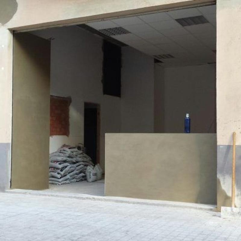 Rehabilitación: Servicios  de Estructuras Egea