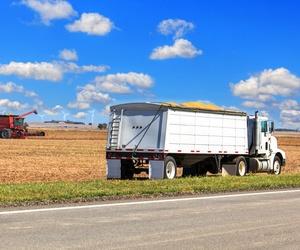 Transporte de cereales por carretera en Pontevedra