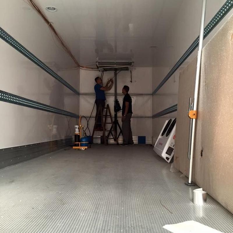 Venta, montaje y reparación de equipos de refrigeración del transprote: Productos de Mafriauto