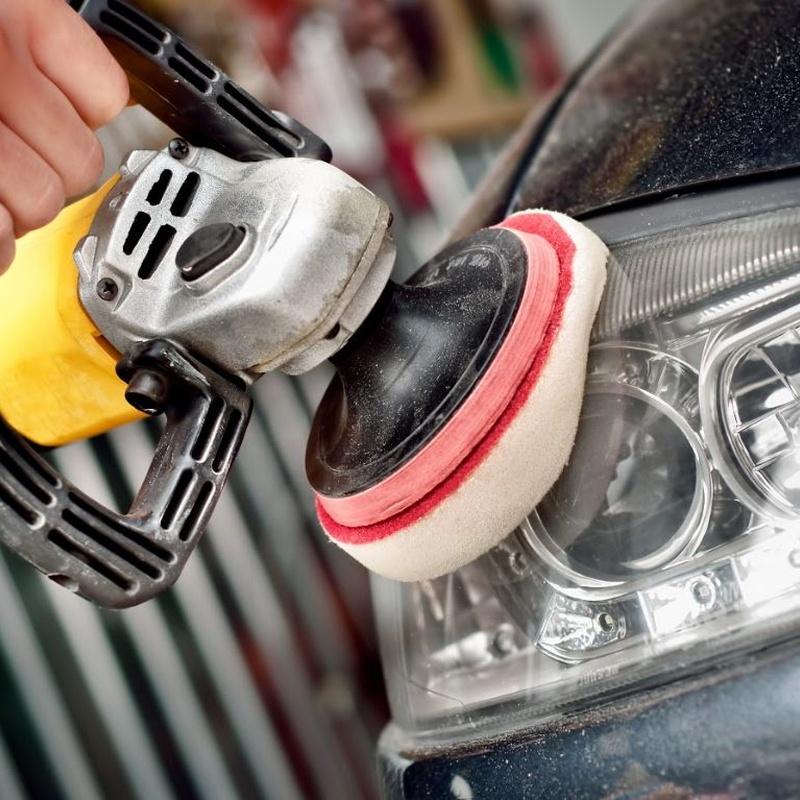 Pulido de faros: Limpieza Filtro de Particulas  de Huracán Motor