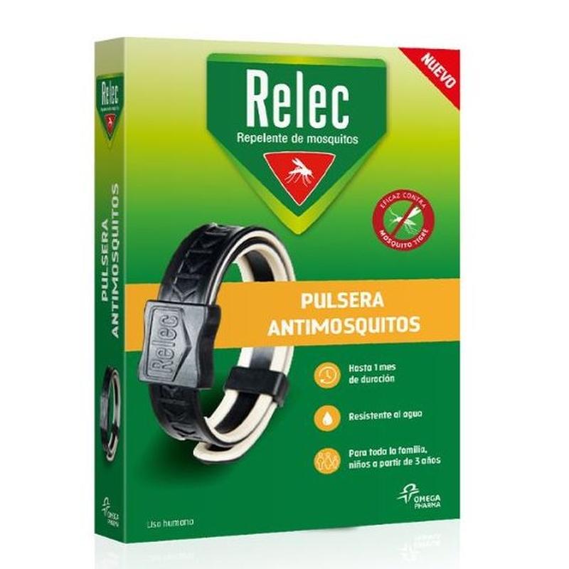 Relec Pulsera Repel·lent de mosquits: PRODUCTES EN ESTOC  de Farmacia Rosa Cinca | Guissona | 365 | 8.30-21