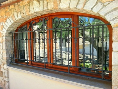 Rejas de forja artesanal en Valls