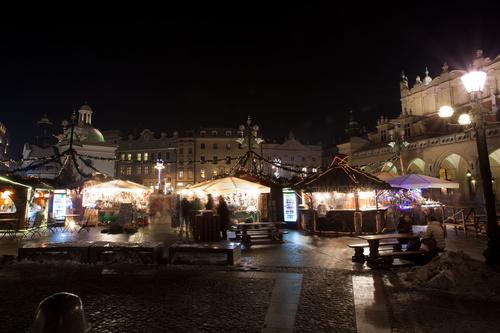 La Navidad en Cracovia