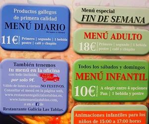 MENÚ ESPECIAL FIN DE SEMANA Y ANIMACIÓN INFANTIL