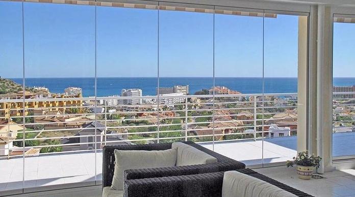 Cerramientos en cristal en Málaga