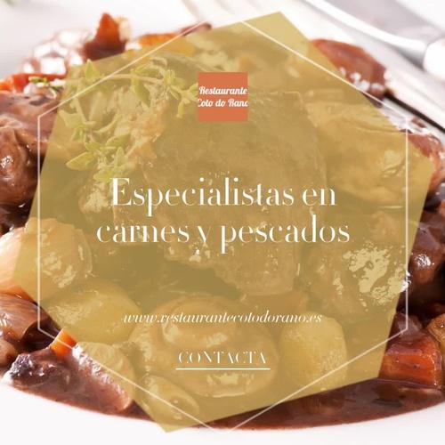 Bar restaurante en Ourense | Restaurante Coto Do Rano
