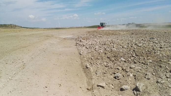 Mantenimiento de caminos en Navarra