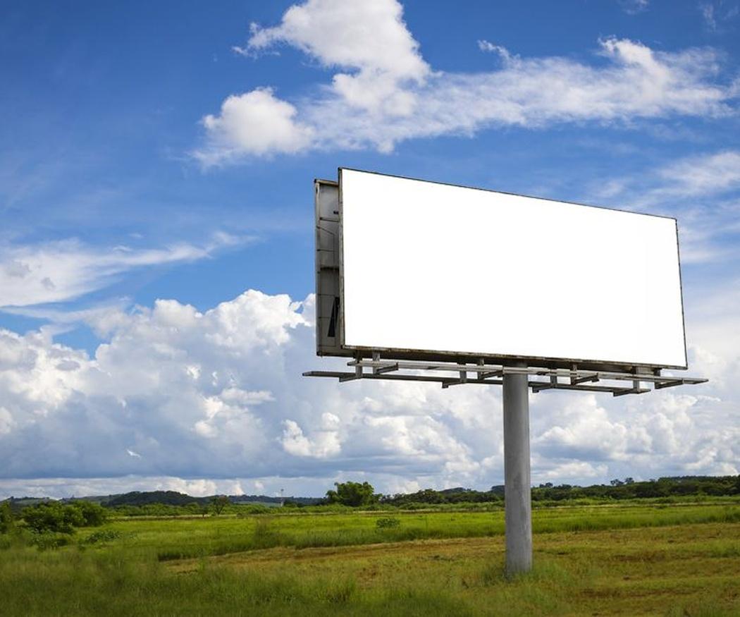 Tipos de carteles publicitarios en altura