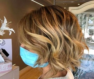 Mechas Melting Blonde:  de Sonia Atanes