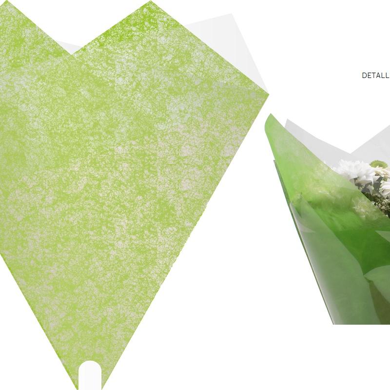 """PQTEx50 BOLSAS PARA BOUQUET MODELO """"Elegant"""" (50x44CM)/ VERDE REF: G30082 PRECIO: 19,80€/PQTE"""