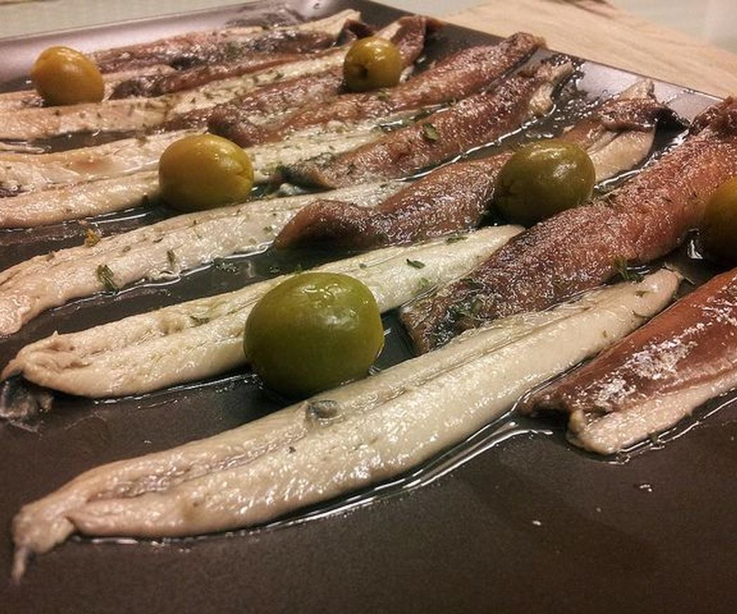 Anchoas en conserva: un nutritivo placer