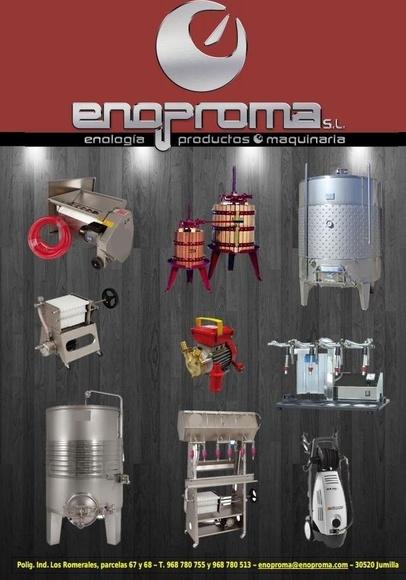 Catálogo Enoproma 2019: Catálogo de Enoproma, S.L.
