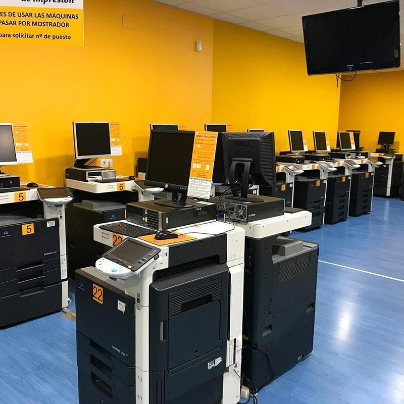 Autoservicio de impresión: CATÁLOGOS & SERVICIOS de CALCAO PRINT