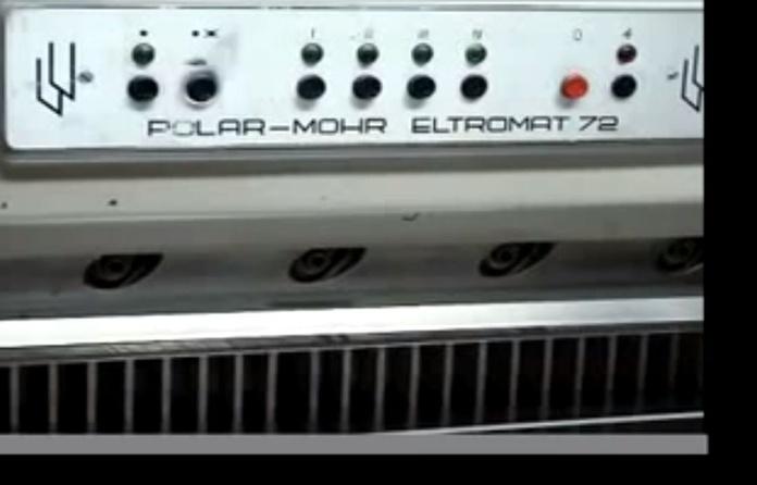 ¿Sabes cómo trabajan nuestras máquinas?