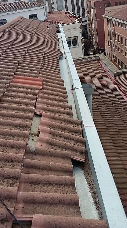 Cubiertas y tejados en Logroño