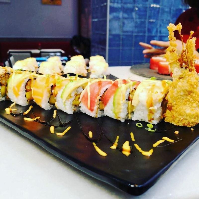 Gran salmón: Carta de Sushi Time Buffet Libre