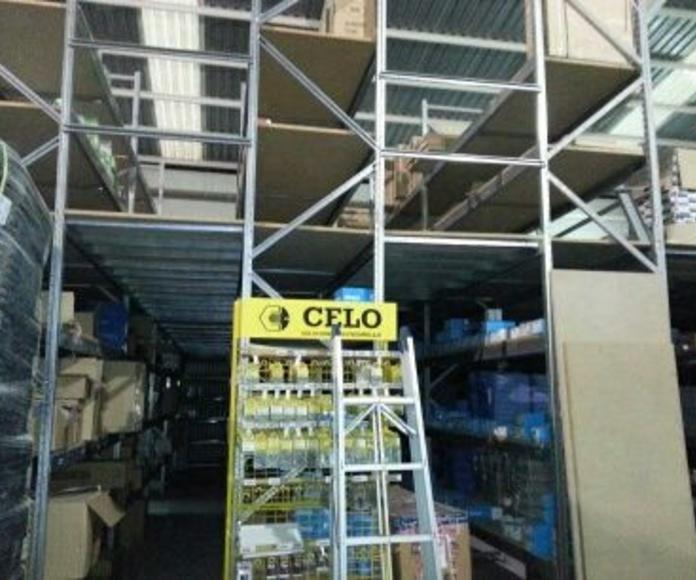 CEF Almacén Material Eléctrico - San Javier: Instalaciones de Europea de Estanterías