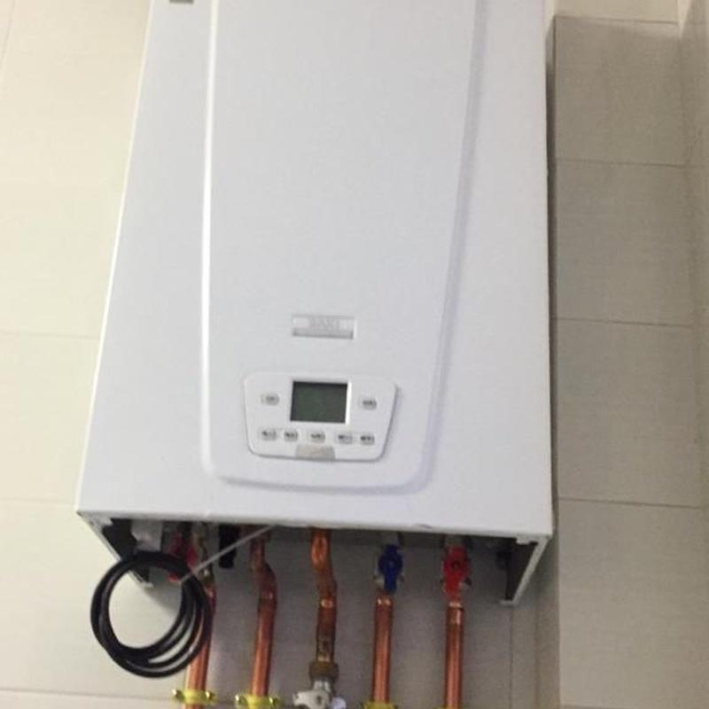 Mantenimiento calderas: Servicios de Saneamientos Calahorra