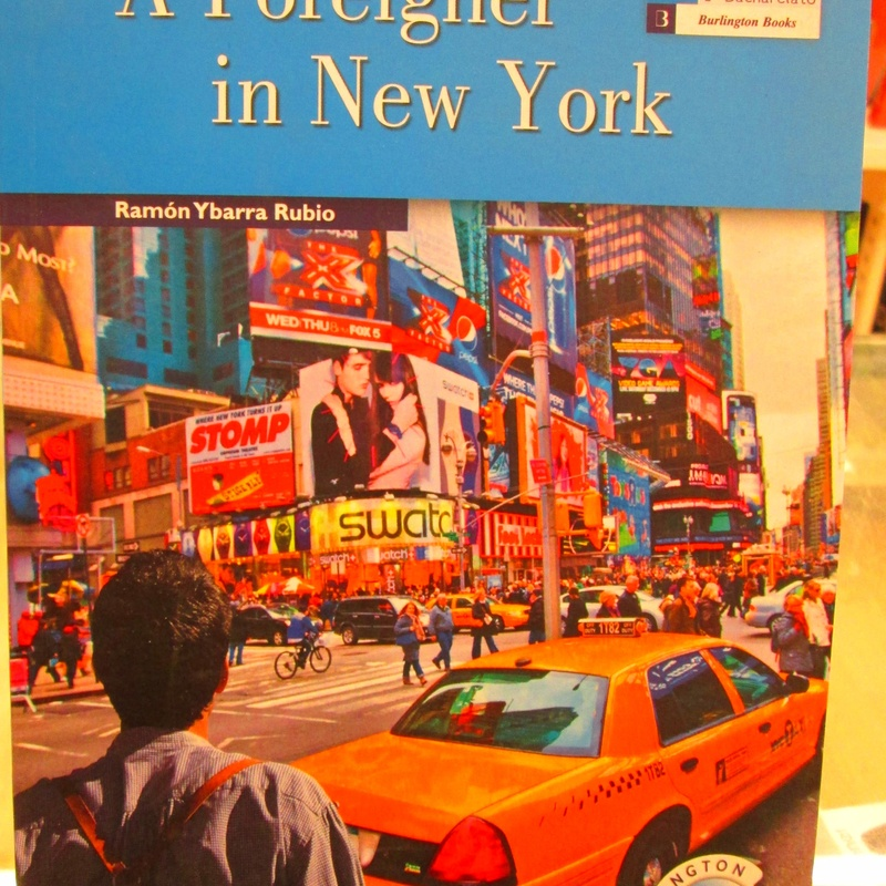 A FOREIGNER IN NEW YORK. BURLINDTON