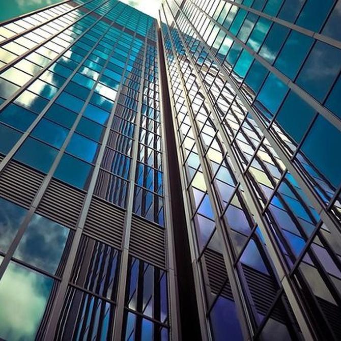 Cristales: mantenimiento y limpieza en las fachadas